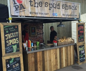 spud shack set-up